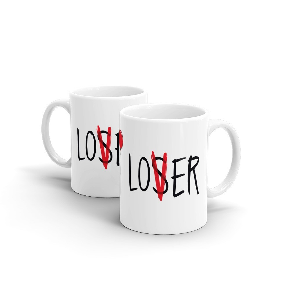 Caneca It a Coisa Loser V (Branca) - EV