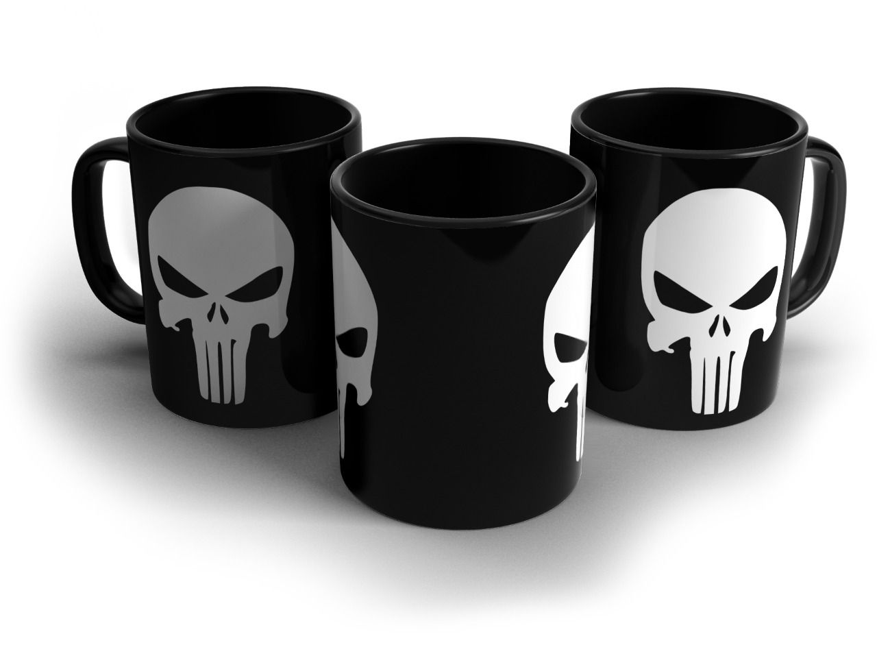 Caneca Justiceiro (The Punisher): Marvel