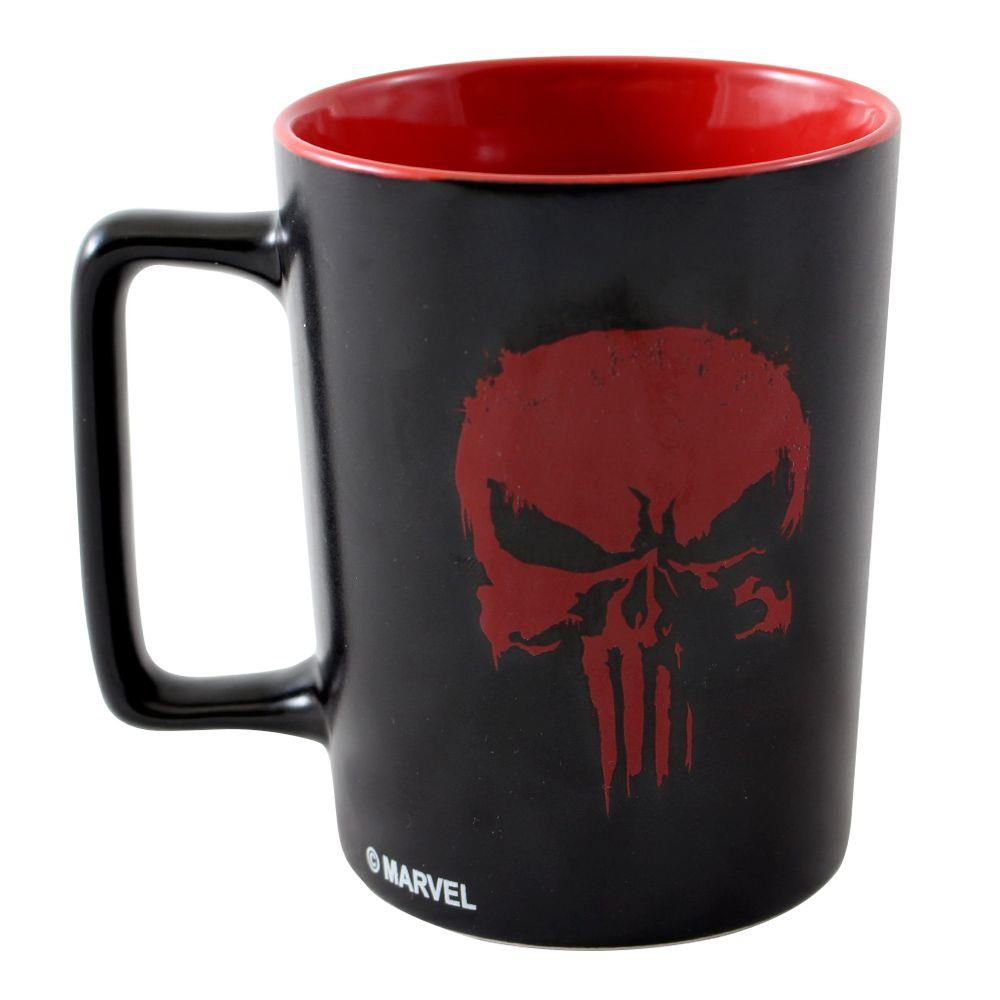 Caneca Justiceiro (The Punisher): Marvel - (500ML)