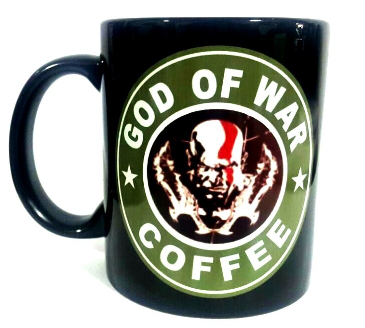 Caneca Kratos Coffee: God of War