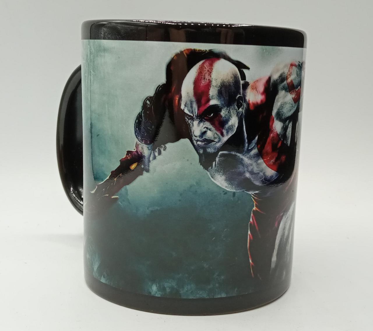 Caneca Kratos God Of War (Preta)