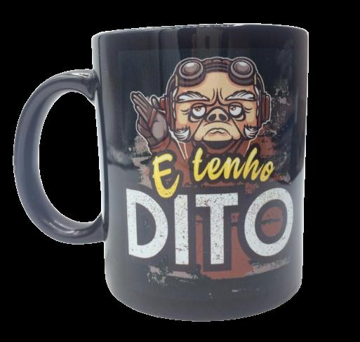 Caneca Kuiil ''E Tenho Dito