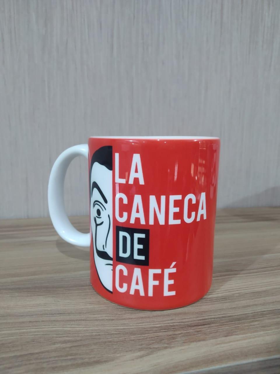 Caneca La Casa De Papel: