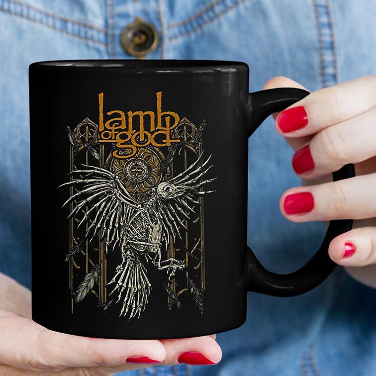 Caneca Lamb Of God Heavy Metal (Preta) - EV