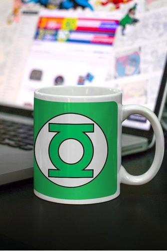 Caneca Lanterna Verde Logo - BandUP!