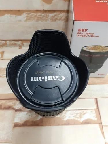 Caneca Lente Fotográfica Canon 28 -135mm