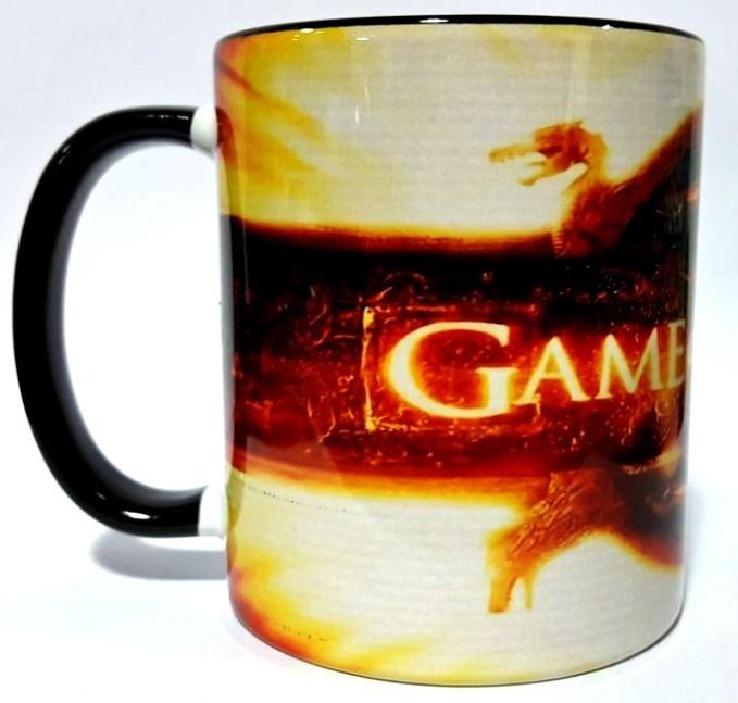 Caneca Logo Game of Thrones