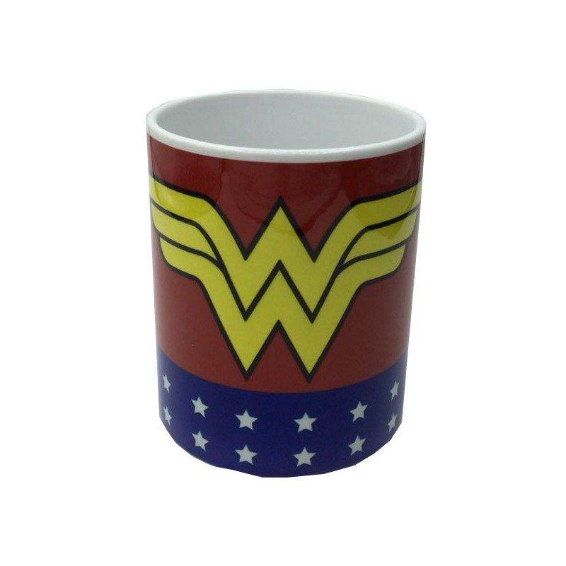 Caneca Logo Mulher-Maravilha (Wonder Woman): DC (325 ML)
