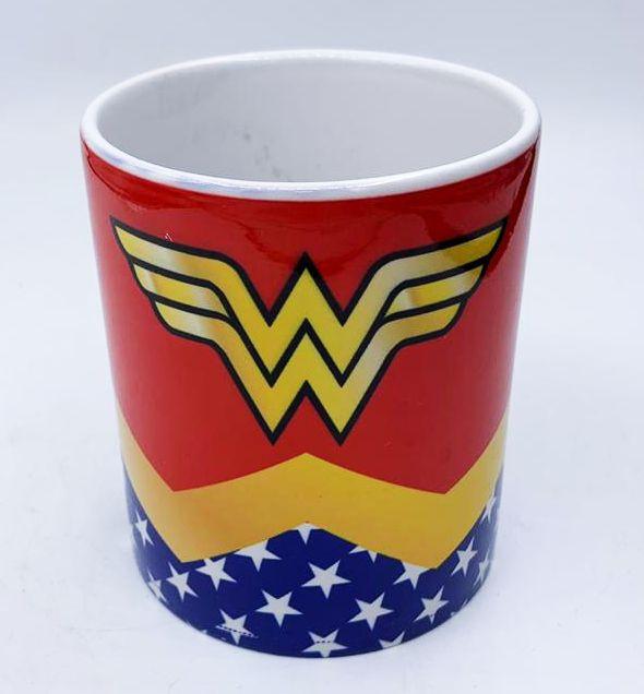 Caneca Logo Mulher-Maravilha (Wonder Woman): DC Comics