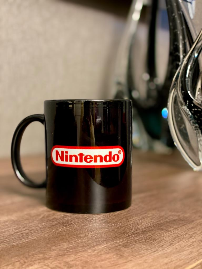 Caneca Logo Nintendo