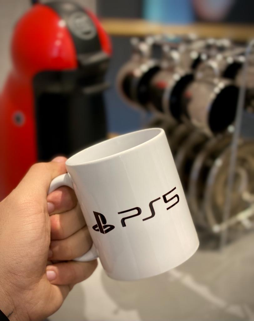 Caneca Logo Playstation 5