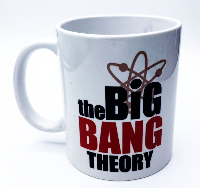 Caneca Logo The Big Bang Theory  - Toyshow Geek e Colecionáveis Tudo em Marvel DC Netflix Vídeo Games