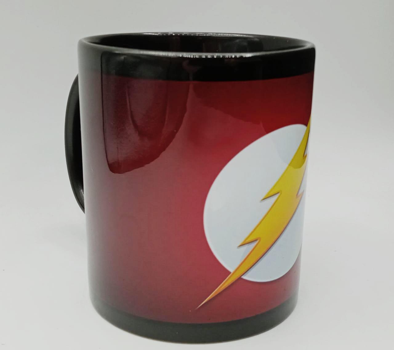 Caneca Logo The Flash (Preta)