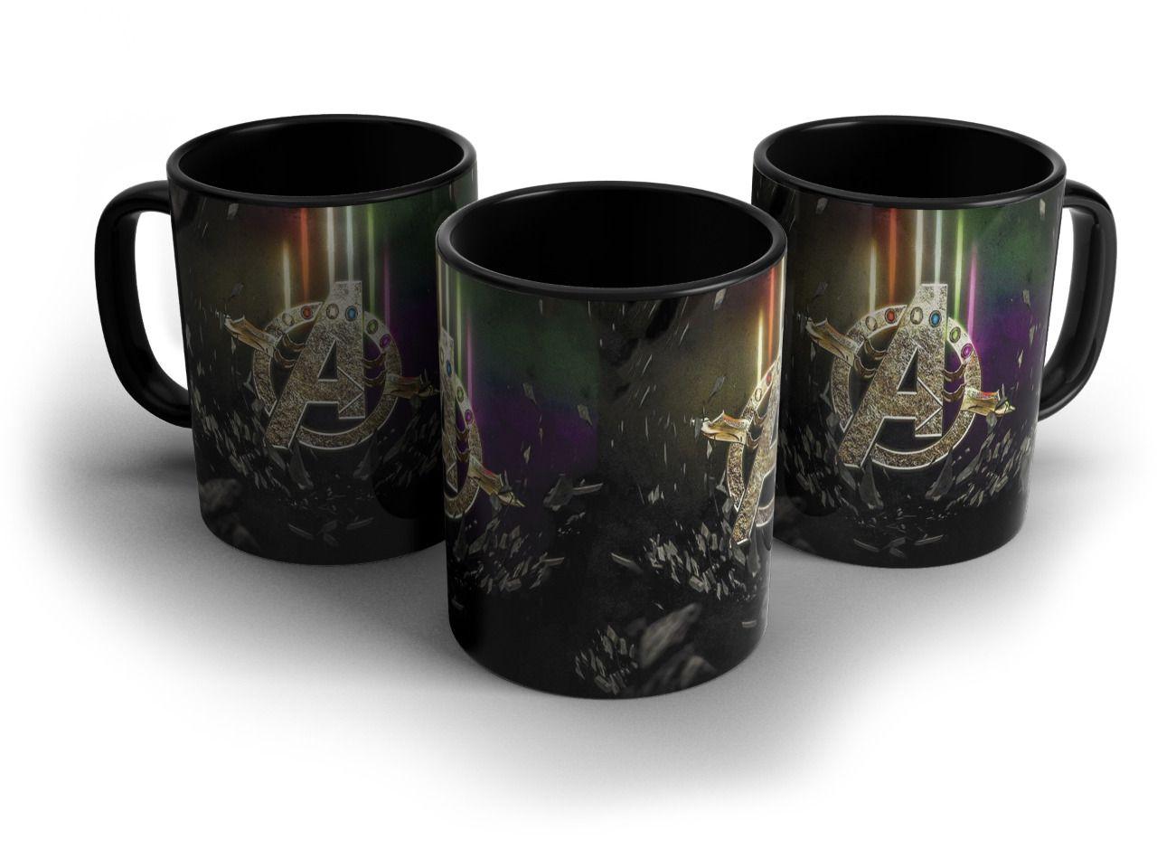 Caneca Logo Vingadores Ultimato (Avengers Endgame)