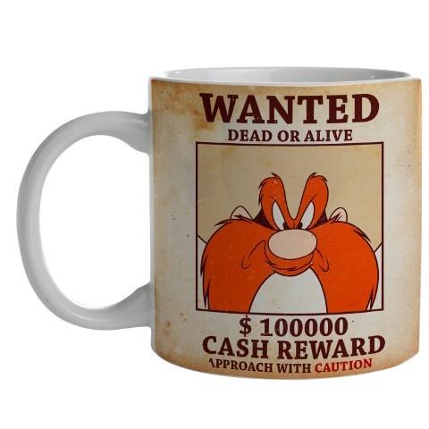 Caneca de Porcelana Eufrazino: Looney Tunes (300ml) - EV