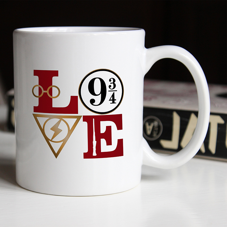 Caneca Love: Harry Potter (Branca) - EV
