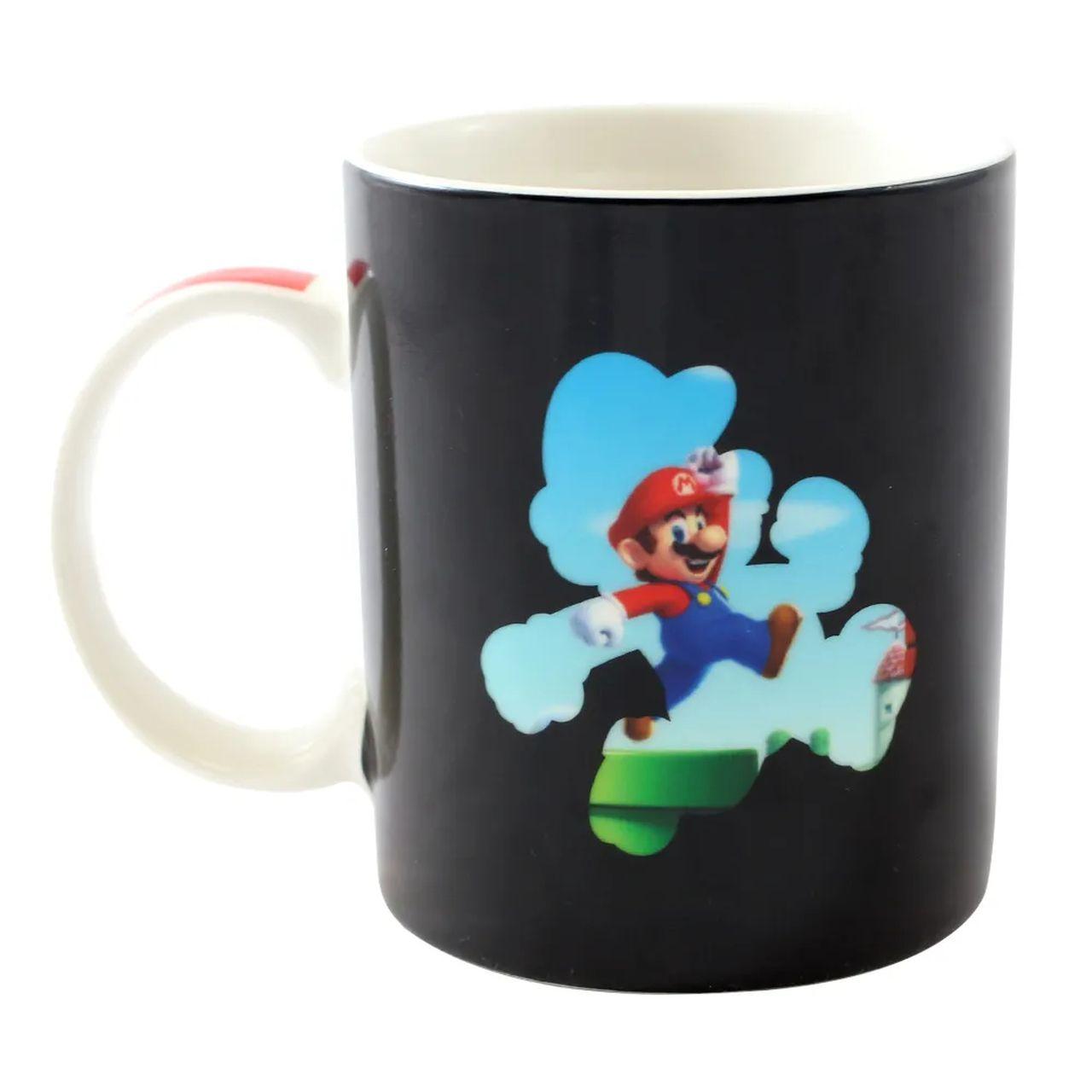 Caneca Mágica Mario: Super Mario Bros (300ml)