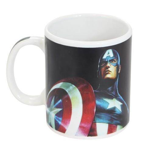 Caneca Mágica Marvel: Capitão América - Zona Criativa
