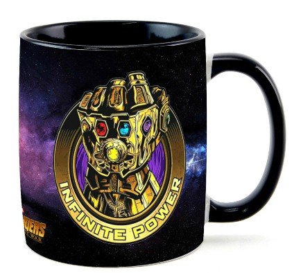 Caneca Manopla: Infinite Power ''Thanos''' - Marvel
