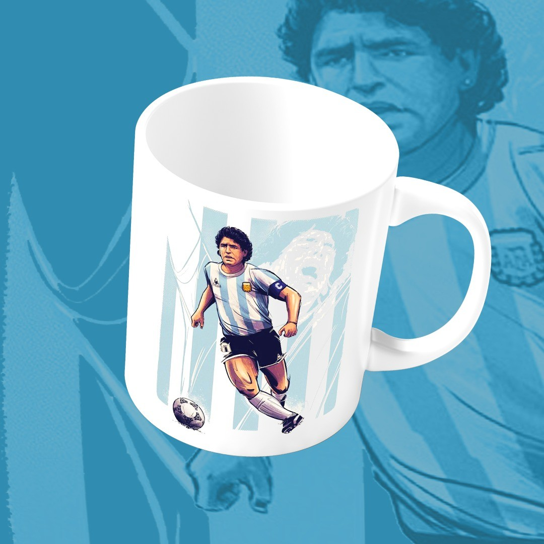Caneca Maradona Argentina 300 ml