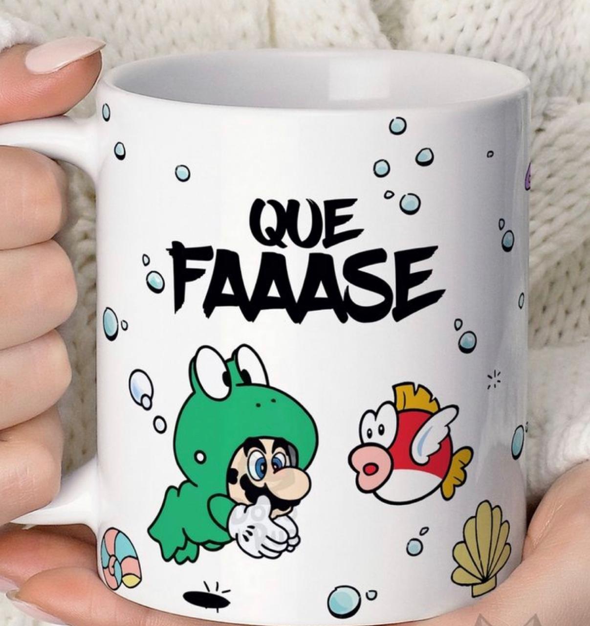 Caneca Mario: