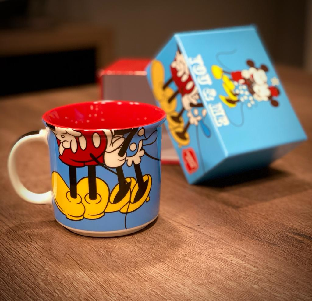 Caneca Mickey e Minnie You and Me - Disney (350ml)