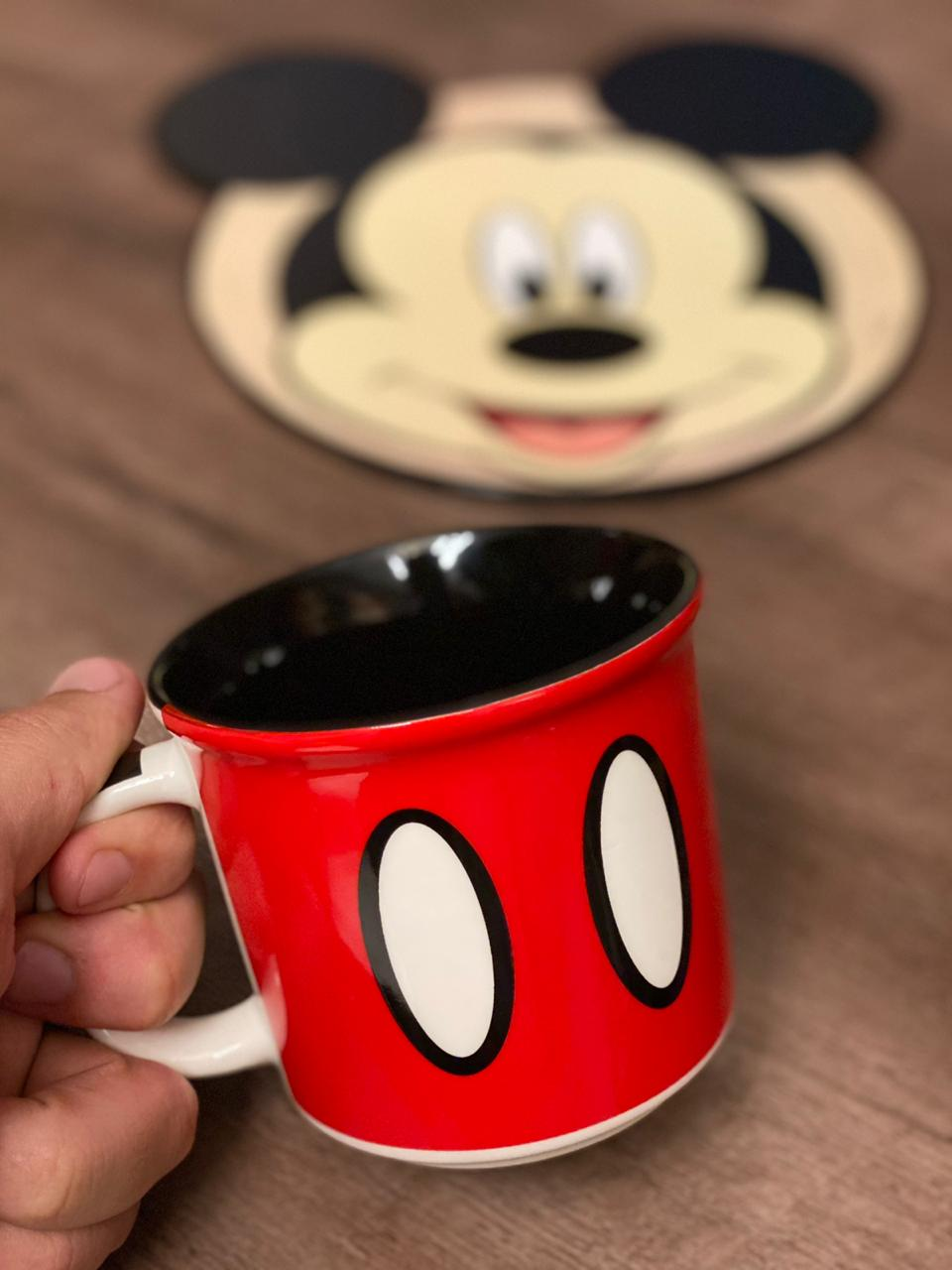 Caneca Mickey: Mickey e Minnie Mouse (Disney) - (350ML)