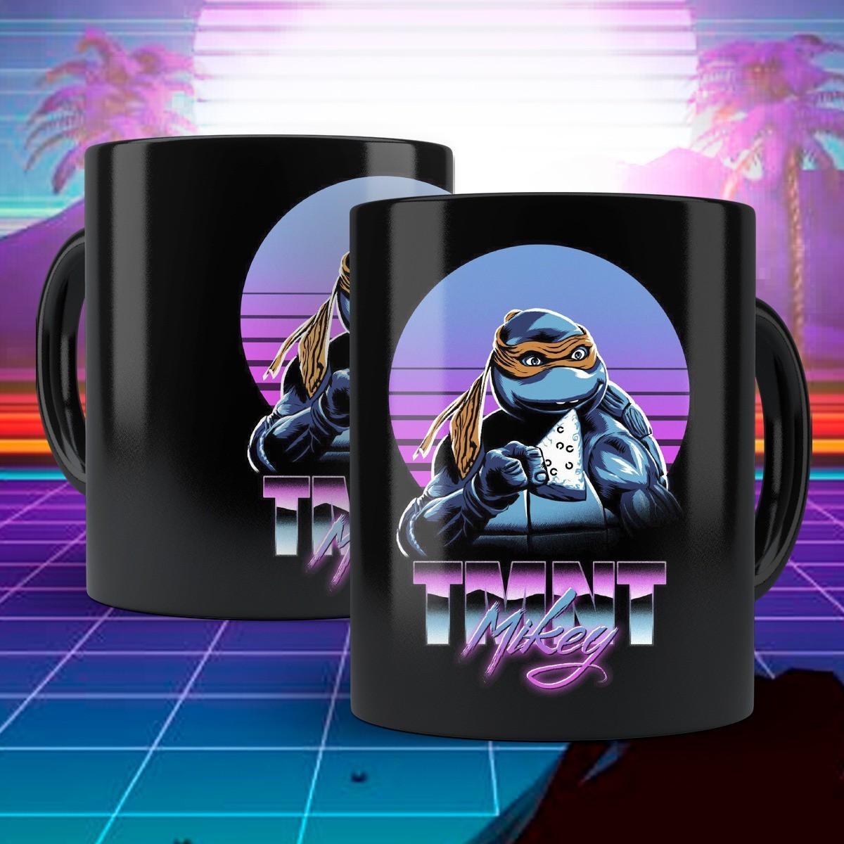 Caneca: Mikey TMNT ( As Tartarugas Ninjas )