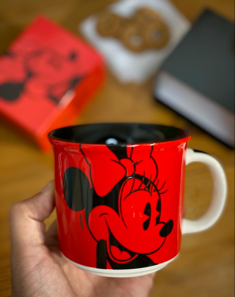 Caneca Minnie Mouse: Disney - (350ML)