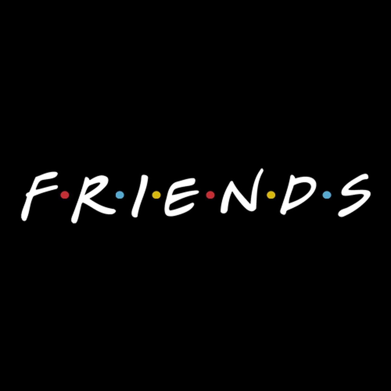 Caneca Moldura: Friends (Preta)