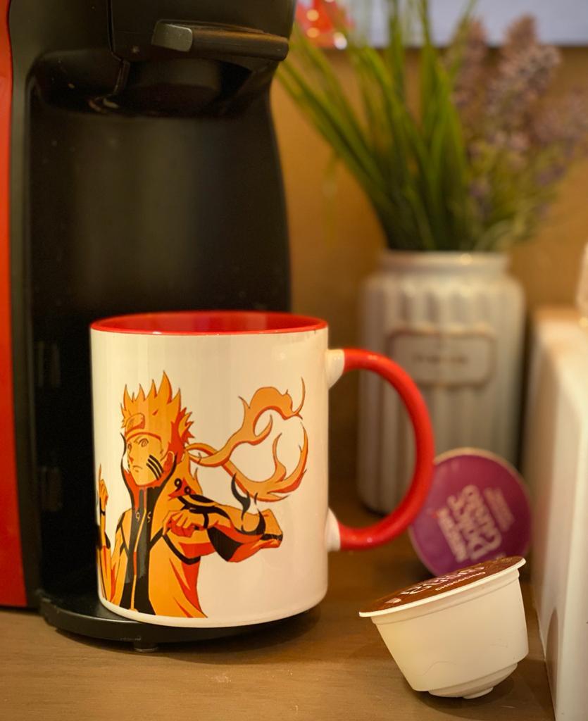 Caneca Naruto Manto de Chakra: Naruto Shippuden