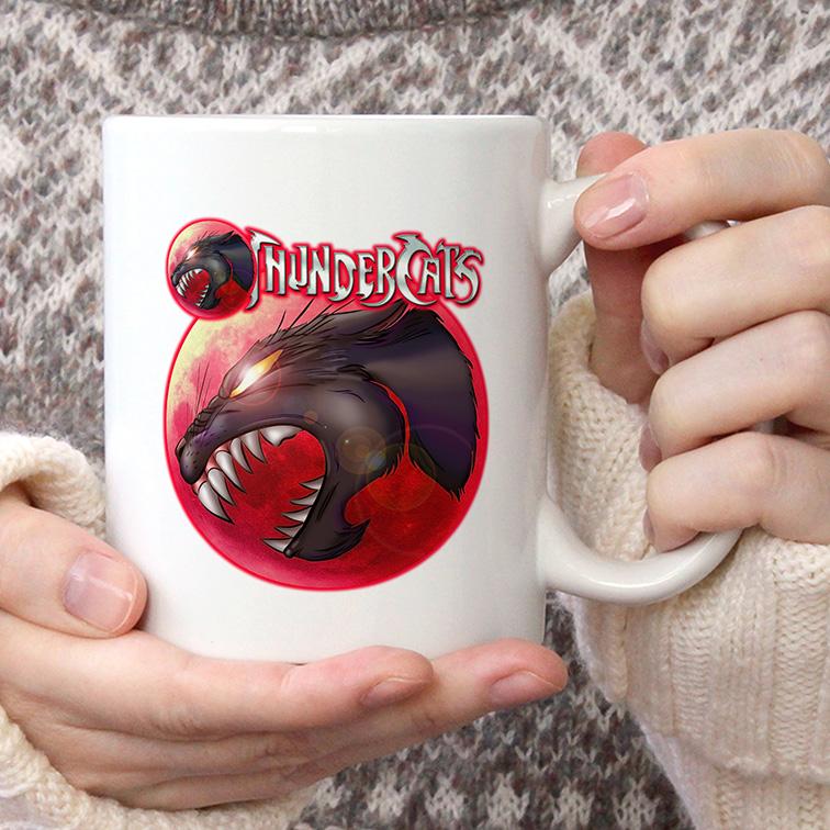 Caneca Olho De Tandera: Thundercats (Branca) - EV