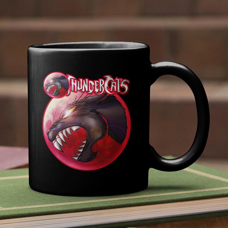 Caneca Olho De Tandera: Thundercats (Preta) - EV