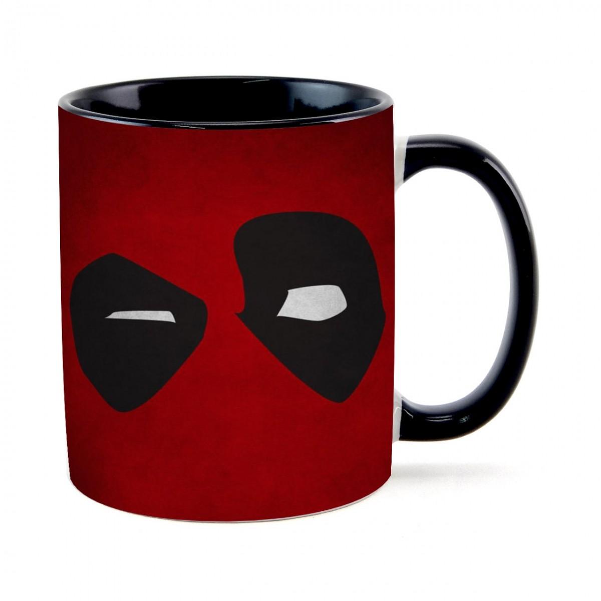 Caneca Olhos Deadpool