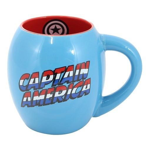Caneca Oval Capitão América