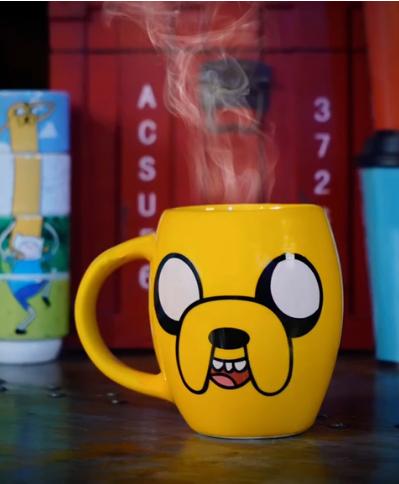 Caneca Oval Jake: Hora de Aventura Adventure Time - EV