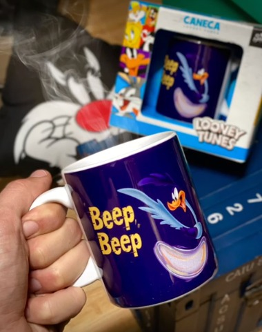 Caneca Papa-Léguas Beep Beep: Looney Tunes - EV