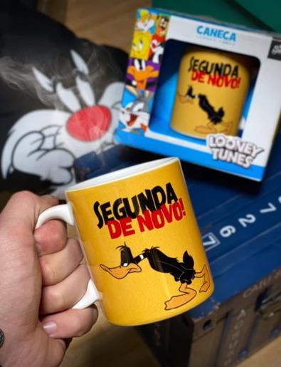 Caneca Patolino Daffy Duck Segunda de Novo!: Looney Tunes - EV
