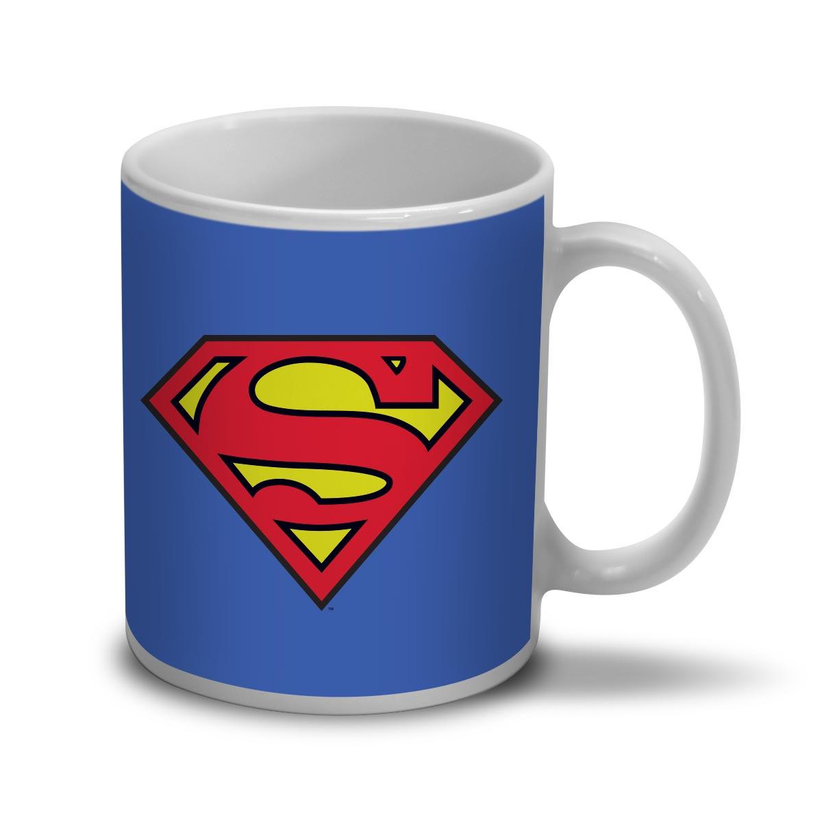 Caneca Pequena Dc Comics : Superman Logo - Urban