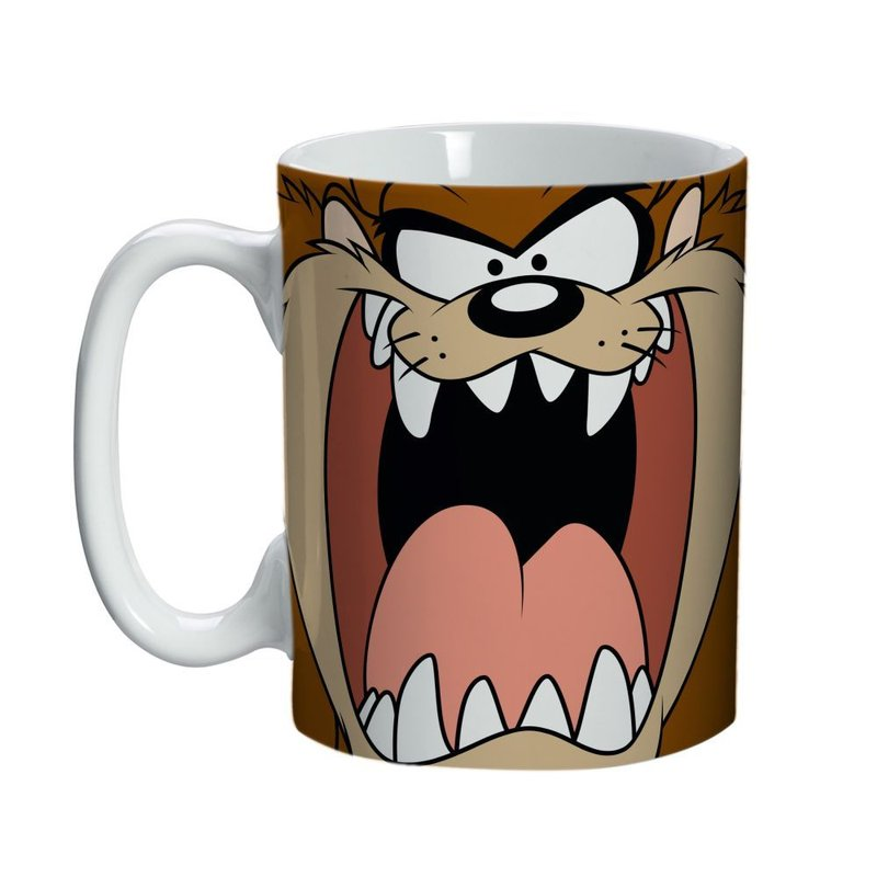 Mini Caneca de Porcelana Taz Mania: Looney Tunes (135ml)