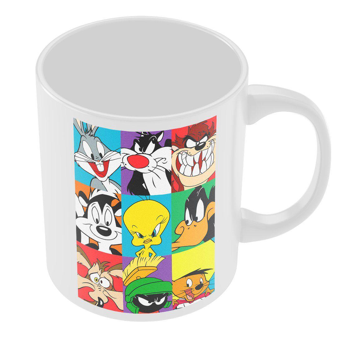 Caneca Personagens Looney Tunes