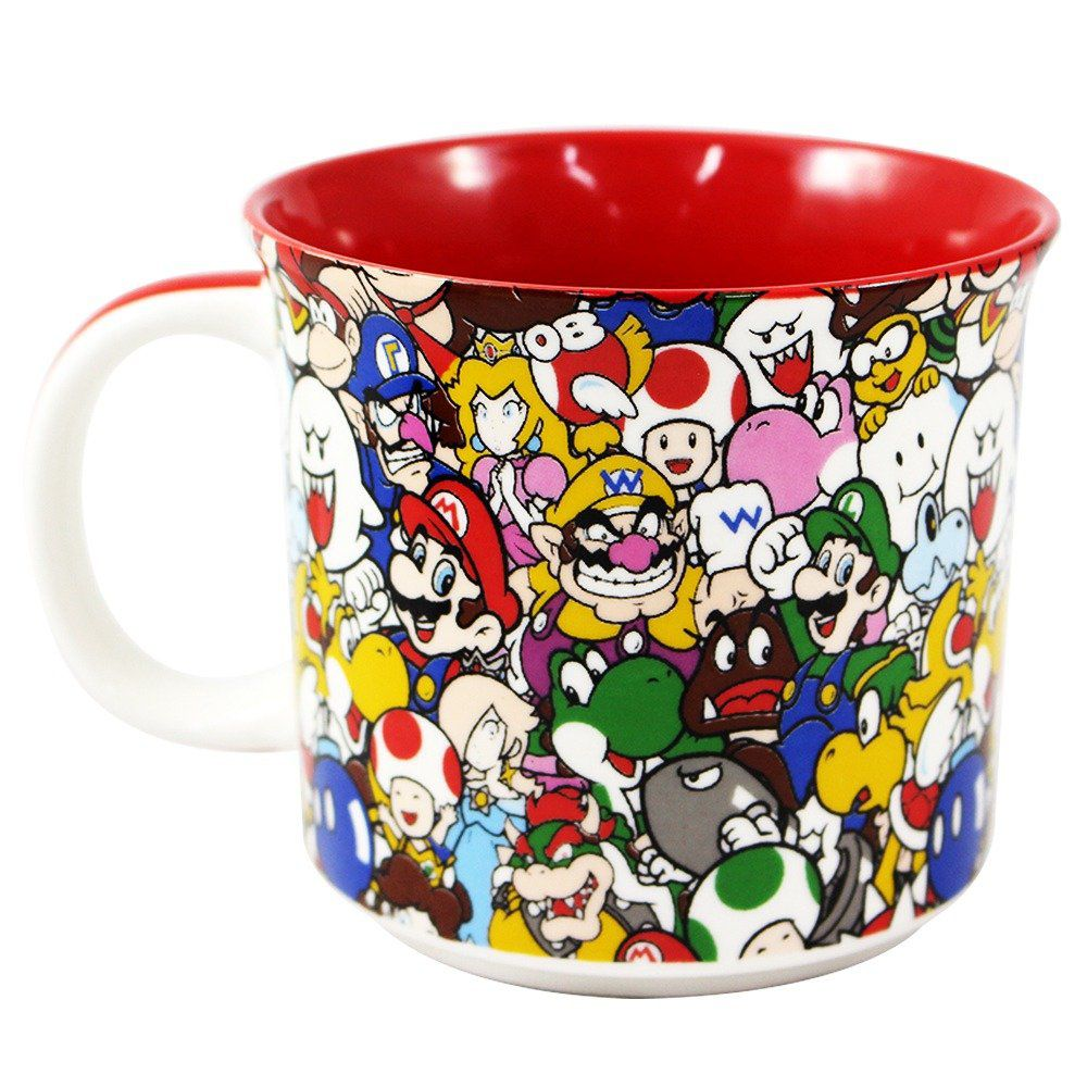 Caneca Personagens: Super Mario Bros - (350ML)