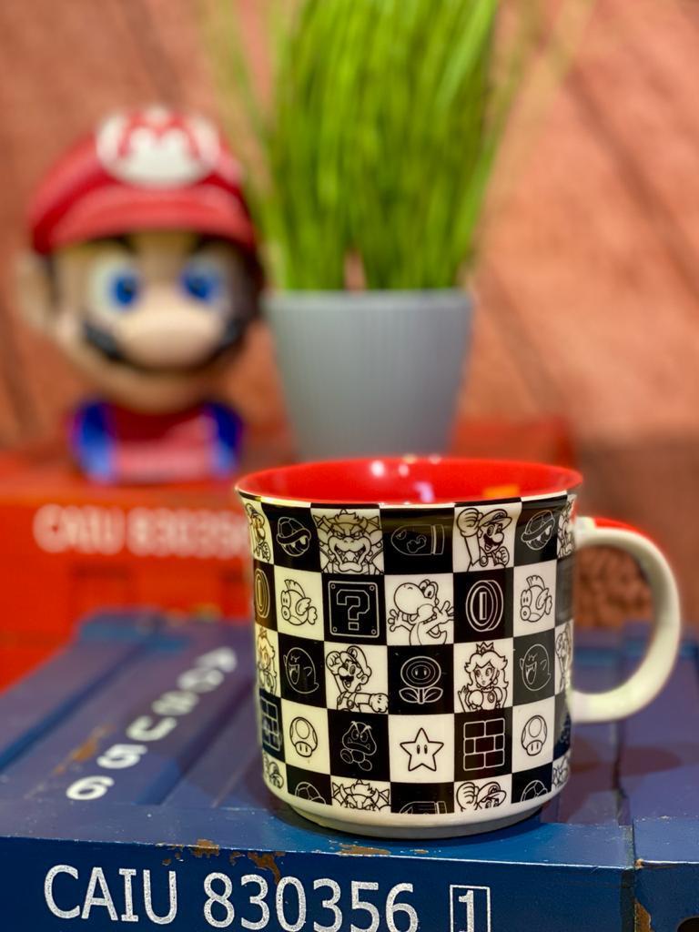 Caneca Personagens: Super Mario Bros.