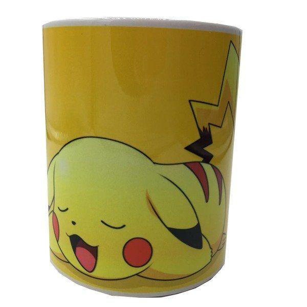 Caneca Pikachu: Pokemon - Branca (330 ML)