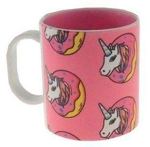 Caneca Plástico unicornio Bolachas 325ml