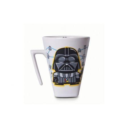 Caneca Plateau Darth Vader - Branca