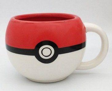 Caneca Pokebola: Pokémon