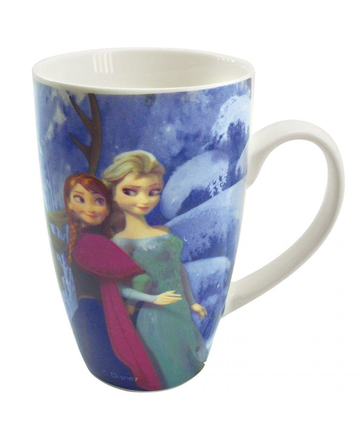 Caneca Porcelana Frozen - 400ml