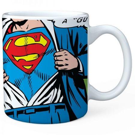 Caneca Porcelana Logo Superman