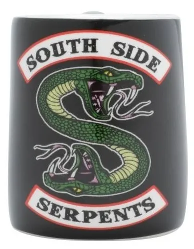 Caneca De Porcelana Soco 3D: Riverdale Serpents Colorido: 380ml - Urban